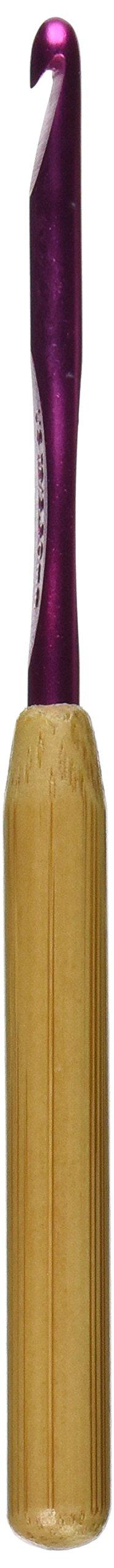 Susan Bates - Aguja de Crochet con mango de bambú de (PJQ0)