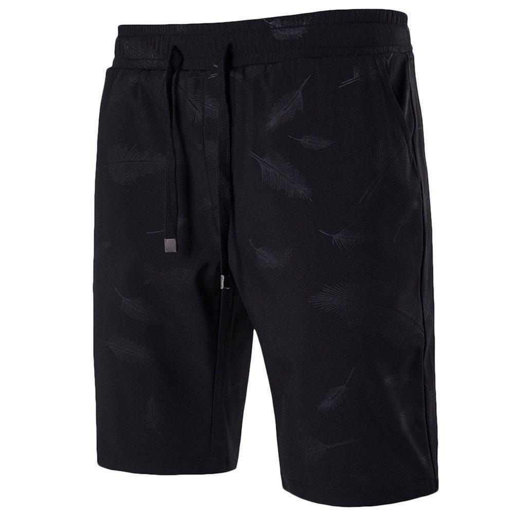 Zhuhaitf Mens Gym Cotton Shorts Pants Bottoms Beachwear Homewear Perfect Gift
