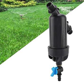 3//4 Gardening Water Screen Filter Garden Hose Drip Irrigation Connector Patio Lawn Care 120 Mesh Plastic