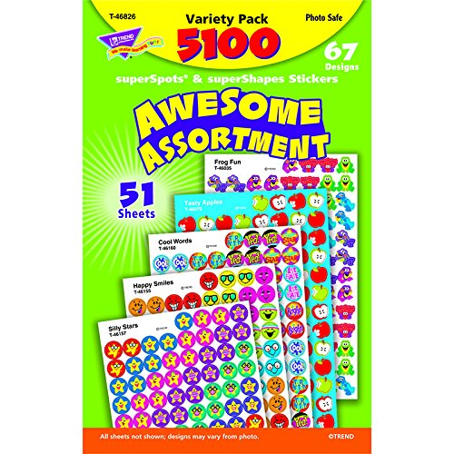 Assortment: SuperSpots® Stickers Variety