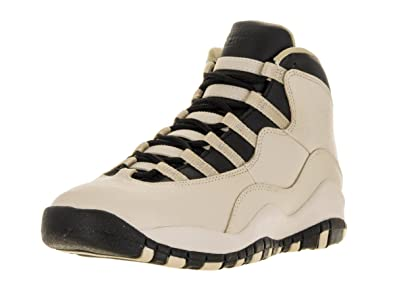 Nike Air Jordan 10 Retro Prem GG, Chaussures de Sport-Basketball Fille,  Blanc