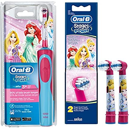 Braun Oral-B Stages Power AdvancePower Kids 900TX - Cepillo de dientes eléctrico para niños
