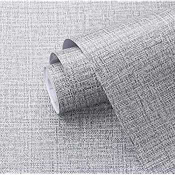 Amazon Com Amao Burlap Pattern Self Adhesive Paper For
