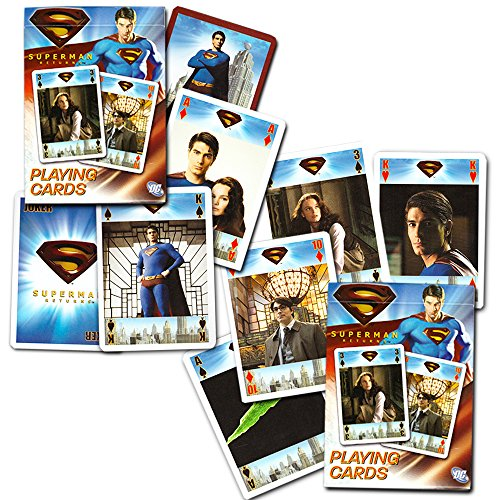DC Comics Superman Playing Cards By Bicycle (2 Decks) (Comics Playing Cards)