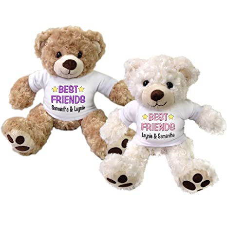 d2472fc8 Image Unavailable. Image not available for. Color: Set of 2 Personalized  Best Friends ...