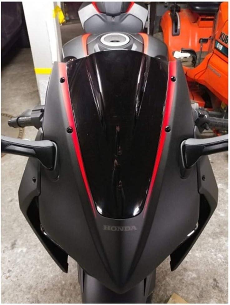 Color : Chrome Motorcycle windshield Windscreen For 2017 2018 2019 Honda CBR1000RR CBR 1000 RR SP SP2 Fireblade Wind Screen Deflectors Windshield