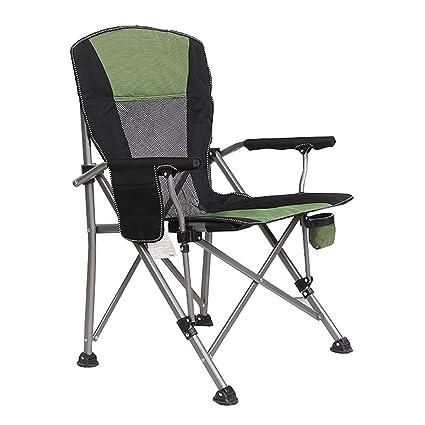 Amazon.com: Silla de camping YXYH, silla plegable acolchada ...