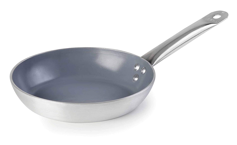 Lacor 22724 - Sartén Eco-Chef con fondo Aluminio Inducción Antiadherente Tricapa, 24 cm