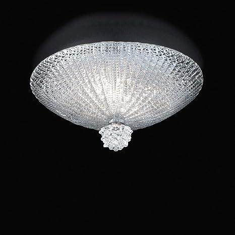 Murano Collection - Lámpara de techo de cristal de Murano ...