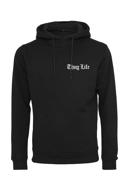 Thug Life Hoodie Chest Logo