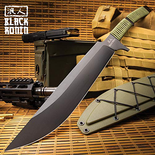 United Cutlery Black Ronin Tak-Kana Sword with Scabbard