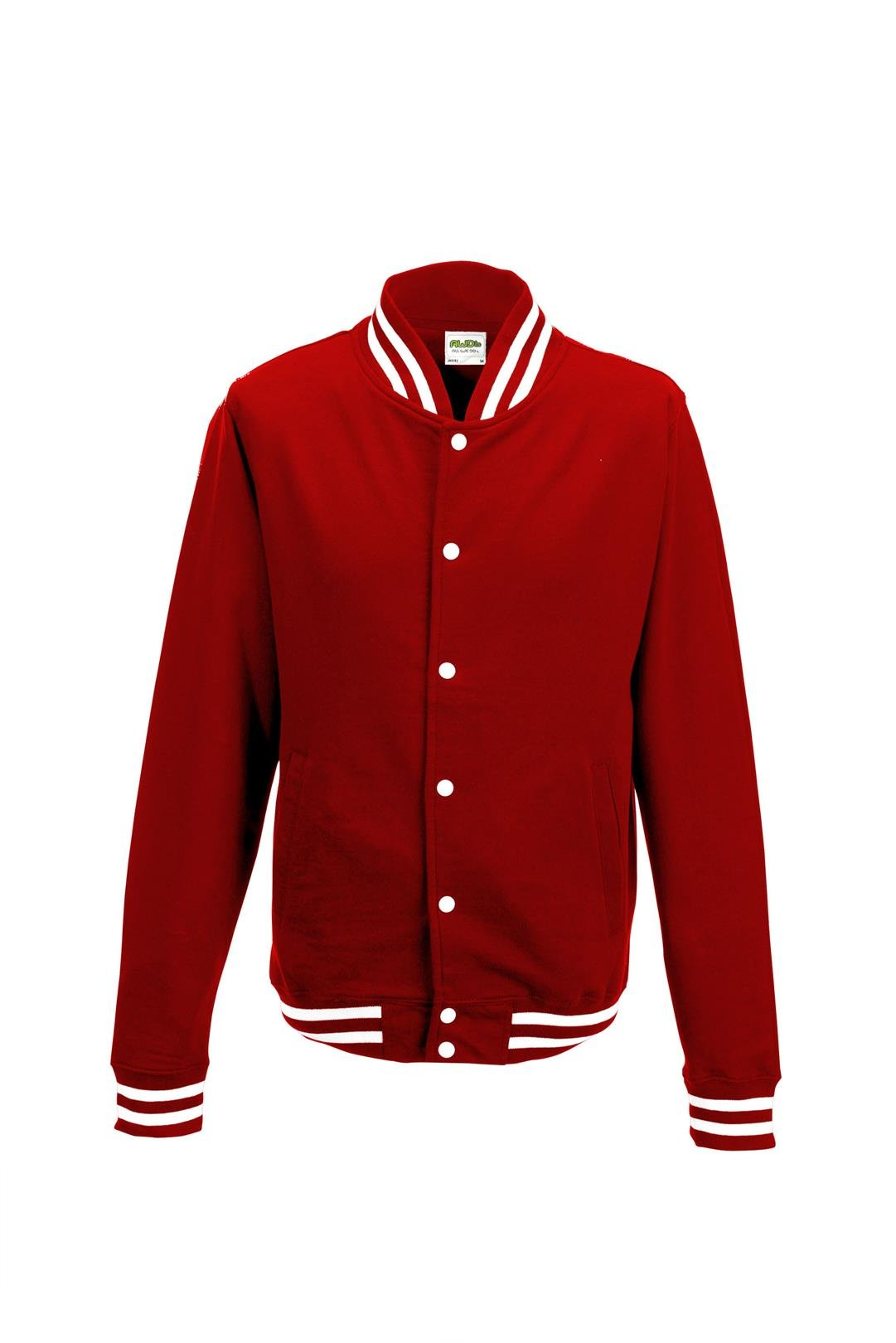 Awdis Mens College Jacket (M) (Fire Red)