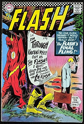 FLASH (1959) #159 FN (6.0) Dr. Mid-Nite cameo ()