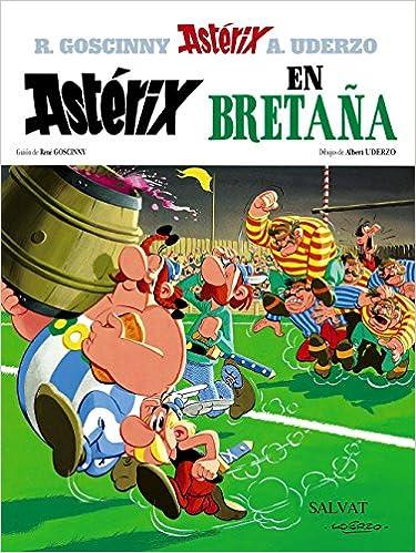 Astérix En Bretaña Castellano A Partir De 10 Años Astérix La Colección Clásica Spanish Edition Uderzo Albert Goscinny René 9788434567269 Books