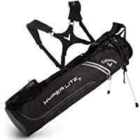 """NEW 2016"" CALLAWAY HYPER LITE 1+ PLUS DUAL CARRY STRAP GOLF STAND PENCIL BAG"