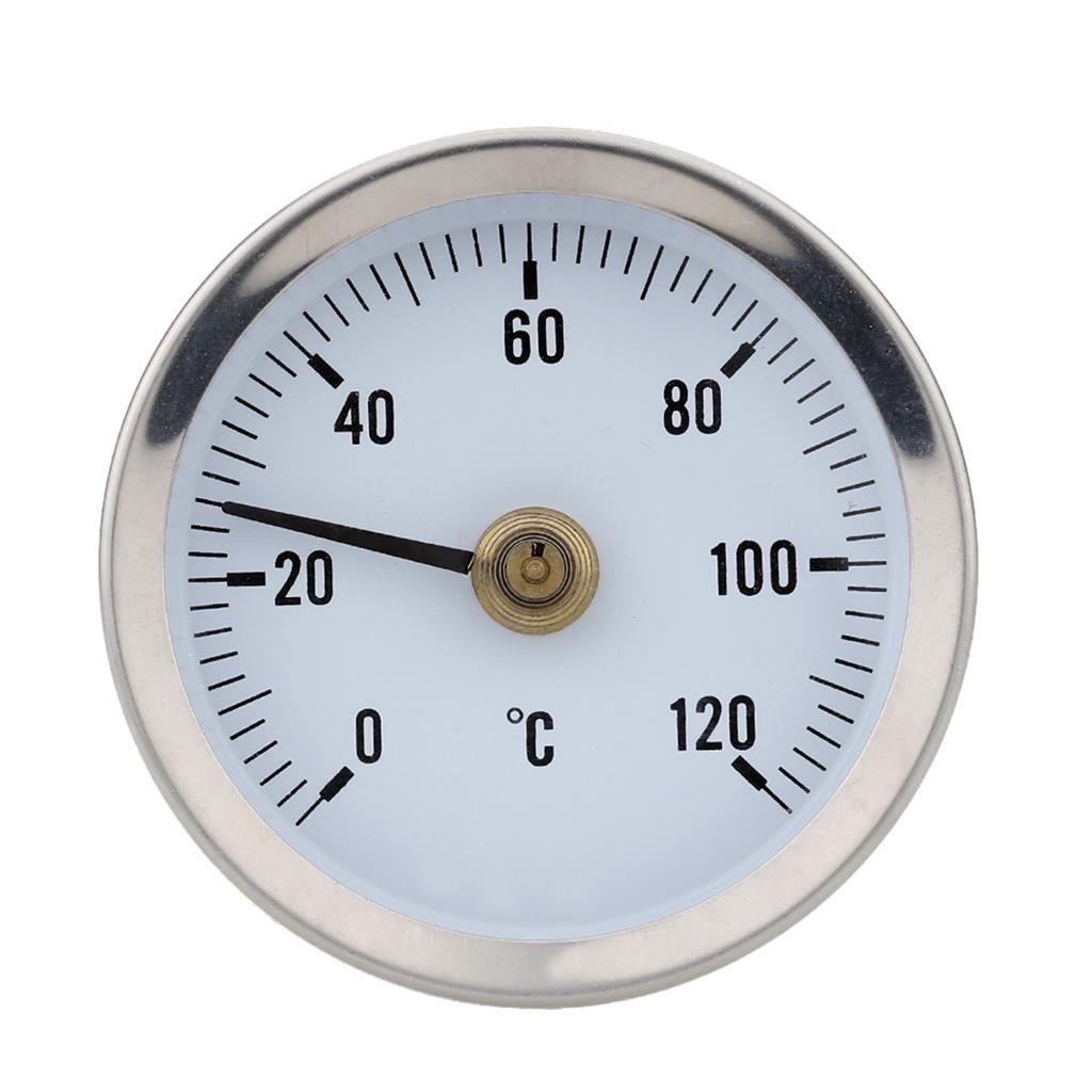 Ts W50a 0 120 Grados Bimet/álico de Acero Inoxidable Term/ómetro de Superficie