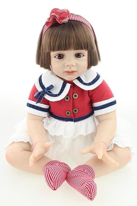 Funny House 2017 1026 CM NEW Real Life Like Full Silicone Body Reborn Baby Realistic Newborn Doll Realistic Newborn Dolls Girl For Baby Birthday or Xmas Gift RBB Dolls