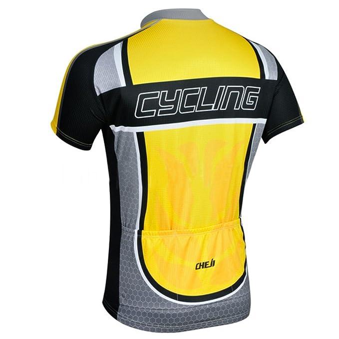 Amazon.com   TOPTIE Short Sleeve Cycling Jersey Shirt bb51db468