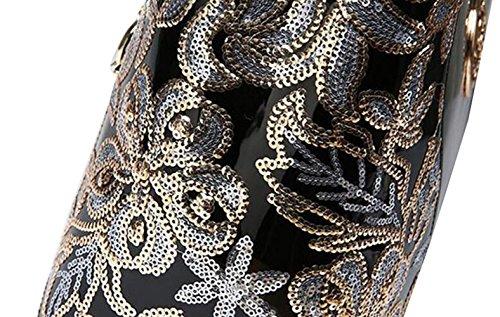 Sacs Tempérament Sacs Bandoulière Cuir Bandoulière Verni Mode à Black Sacs Main Sacs Main à Sacs à De à fgfrxSqwa