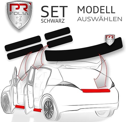 Pr Folia Set Passend Für Rapid Spaceback Kombi Typ Nh Ab 2013 Ladekantenschutz Einstiegsleisten In Schwarz Lack Schutz Folie Auto