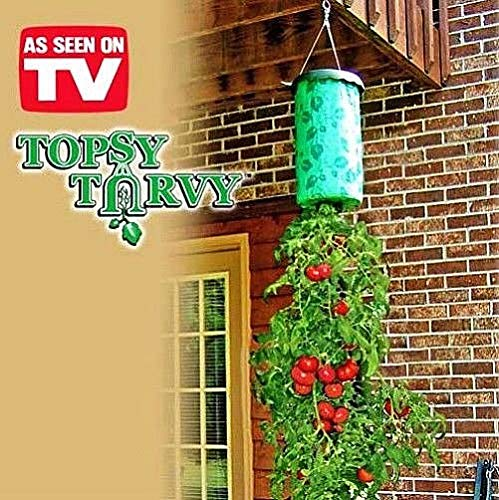 Casavidas Seeds: Topsy TURVY, Upside Down Tomato ER System, Grow UP to 30 LBS, New & Improved ()