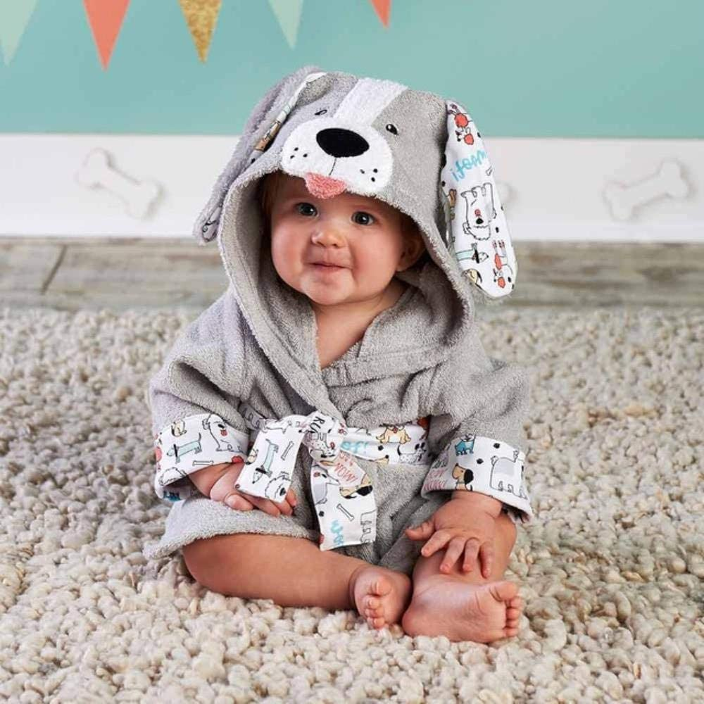 LASISZ 30 Designs Hooded Animal Model ing Baby Bathrobe//Cartoon Baby Spa Towel//Character Kids Bath Robe//Infant Beach Towels,Princess
