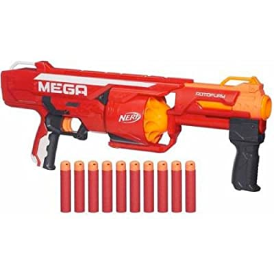 Nerf N-Strike Mega Series RotoFury Blaster: Toys & Games