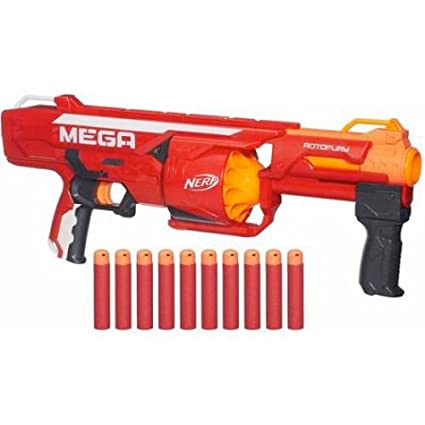 Buy Nerf N-Strike Elite Rampage, Multi Color Online at Low Prices in India  - Amazon.in