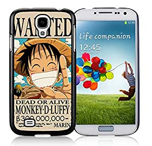 Customized Case One Piece 22 Samsung Galaxy S4 I9500 Black Cell Phone Case