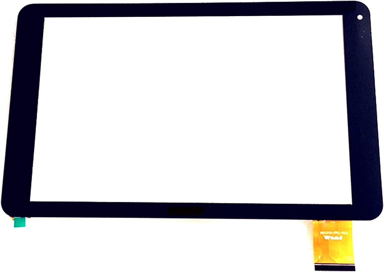 Negro EUTOPING /® De Nuevo 10.1 Pulgadas Reemplazar Pantalla tactil Digital para wolder mitab Pro