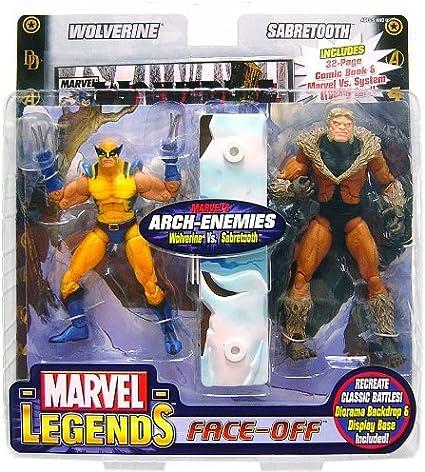 Marvel Select figura de acción Sabretooth