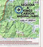 Search : Sequoia & Kings Canyon National parks recreation map (Tom Harrison Maps)