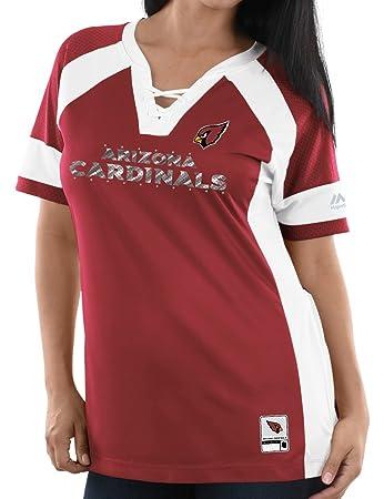 Majestic NFL Shirt T-Shirts HYPER Arizona Cardinals rot Shirts & Hemden