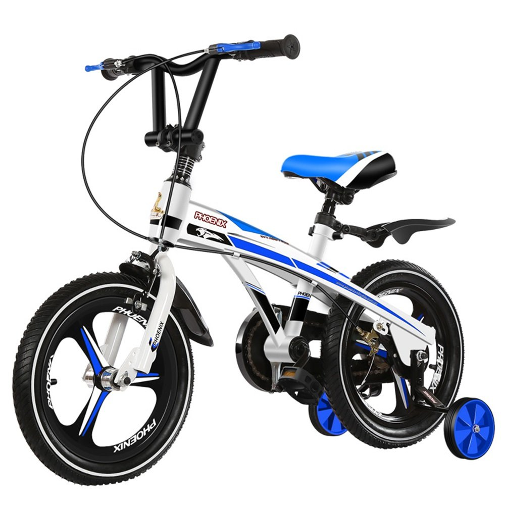 子供用自転車、乳児用乳母車、自転車、マウンテンバイク、子供用自転車 ( 色 : ホワイトブルー , サイズ さいず : 98*38*76cm ) B078KNRQGX 98*38*76cm|ホワイトブルー ホワイトブルー 98*38*76cm