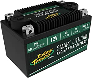 Battery Tender 4.5AH 270CA Lithium Engine Start Battery w/Smart BMS