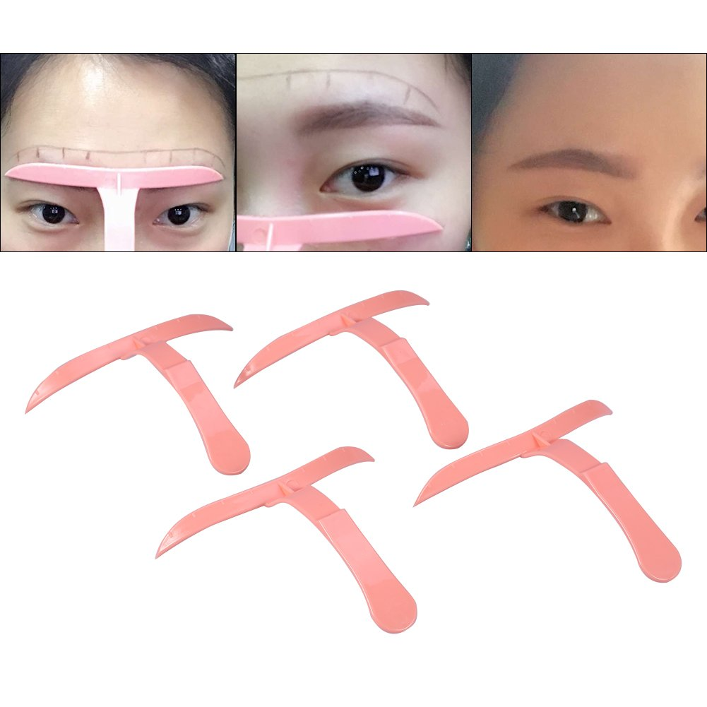Eyebrow Stencil Different Eyebrows Template Shaping Grooming Eye