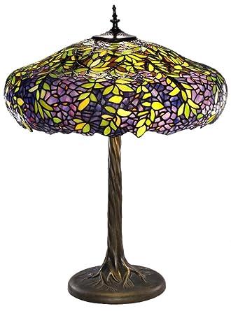 Labumum tree tiffany style table lamp