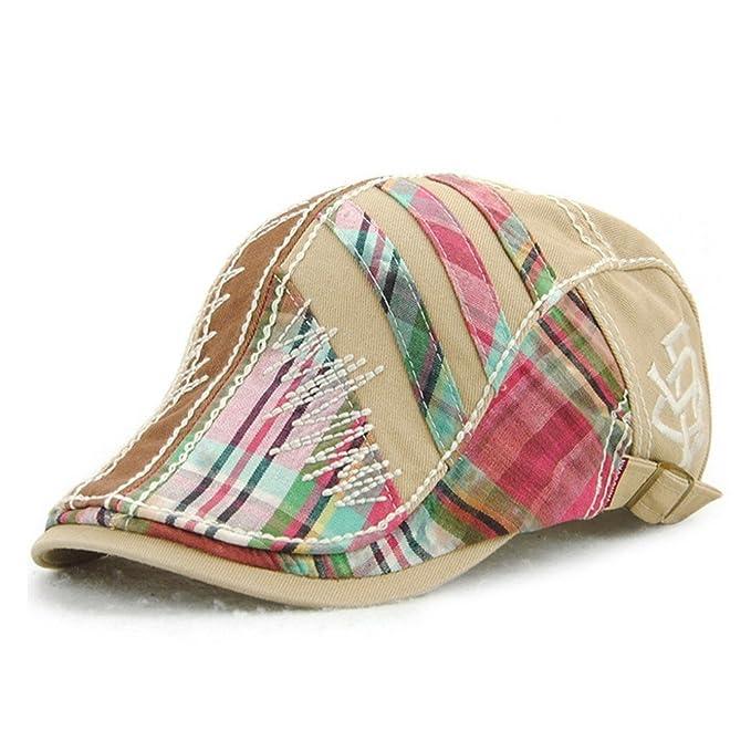 Women s Trendy Fashion Summer Adjustable Newsboy Visor Ivy Cap Hat ... 25597e953be