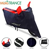 Mototrance Sporty Arc Bike Body Cover For Honda Activa 4G(Blue,Red)