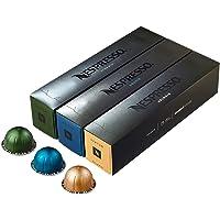 Nespresso Vertuoline Coffee Capsules Assortment - The Best Sellers: 1 Sleeve of Stormio, 1 Sleeve of Odacio en 1 Sleeve…