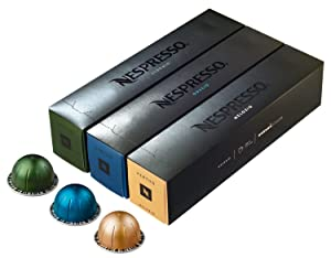 Nespresso Vertuoline Coffee Capsules Assortment (30 Capsules)
