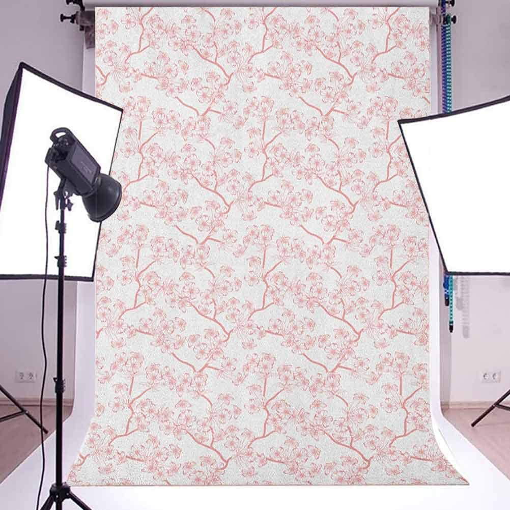7x10 FT Landscape Vinyl Photography Background Backdrops,Empty Apartment Home with Seascape and Forest View Photo Image Background Newborn Baby Portrait Photo Studio Photobooth Props