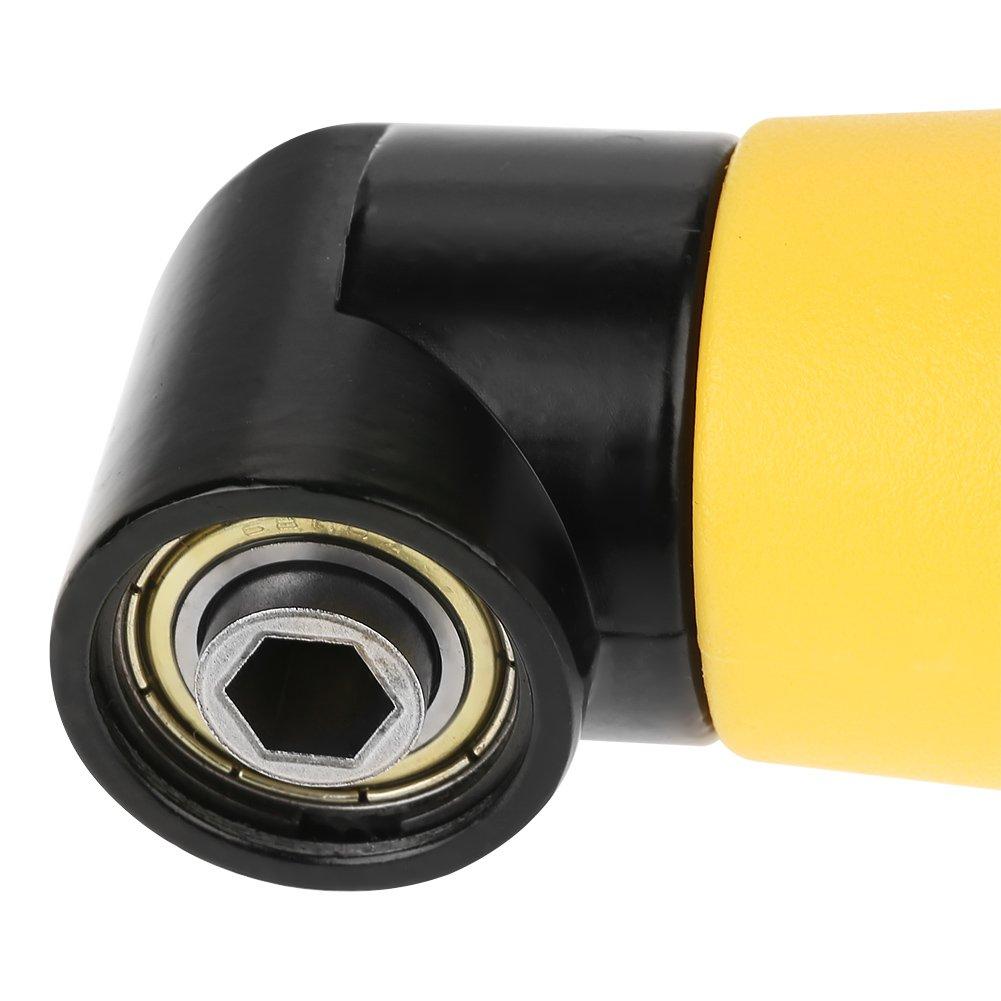 90 Grad Winkelvorsatz 90 /° Winkelschrauber Vorsatz Adapter Sechskant Schaftverl/ängerung Schraubendreher Bohrer Buchse Halter Adapter H/ülse