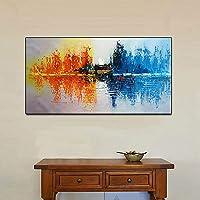 Comfot Pintura al óleo Pintada a Mano