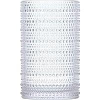 D&V By Fortessa Jupiter Iced Beverage Glass, 13 Ounce, Set of 6 (Clear)