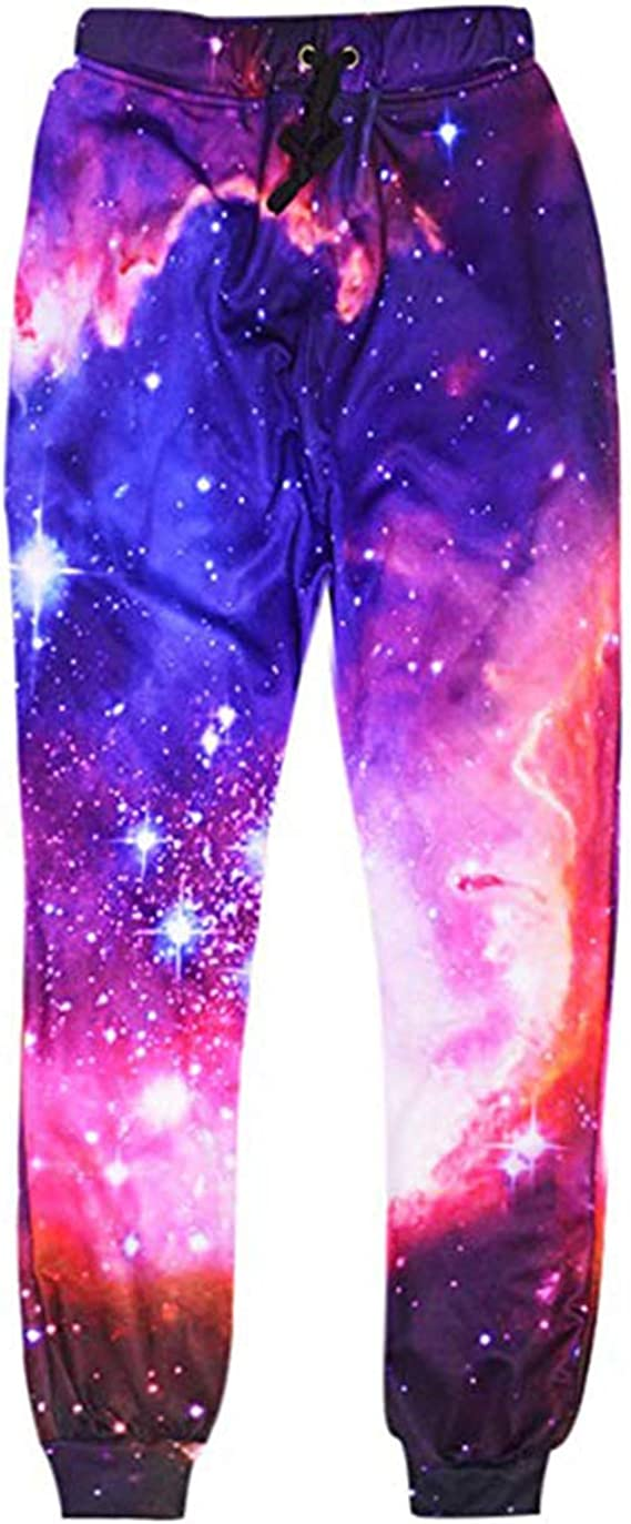 Uideazone Unisex 3D Printed Graphric Sport Jogging Pants Casual Sweatpants