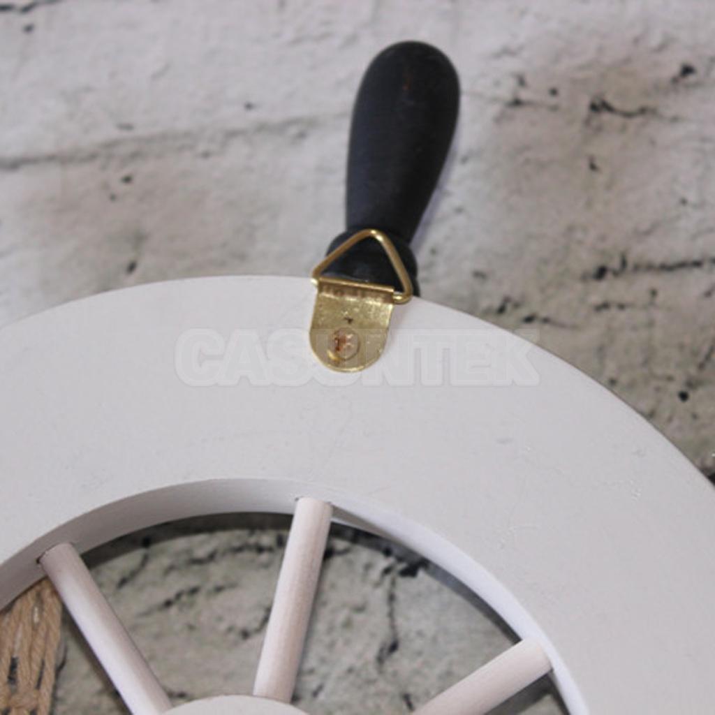Buy Electroprime 9 Inch Nautical Wooden Boat Ship Steering Wheel