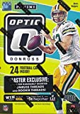 2016 Donruss Optic Football EXCLUSIVE Factory Sealed Retail Box with 6 ROOKIES Featuring Opti-Chrome Technology!! Look for Rookies & Autographs of Dak Prescott, Carson Wentz, Ezekiel Elliott & More!