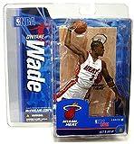 McFarlane Toys NBA Sports Picks Series 12 Action Figure Dwayne Wade 2 (Miami Heat) White Jersey