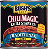 Bush's Best Chili Magic Traditional Chili Starter, 15.5 oz (12 cans)